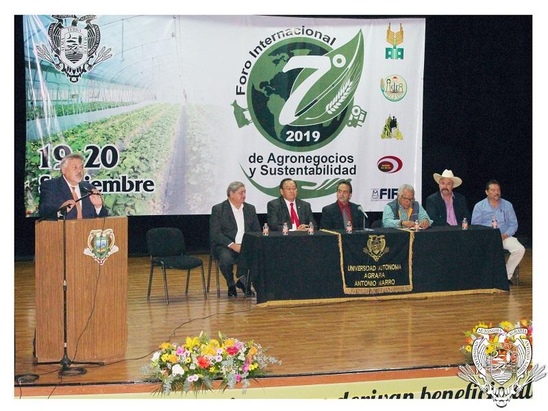 VII Foro Internacional de Agronegocios y Sustentabilidad