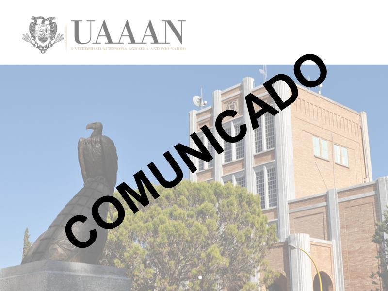 A la Comunidad Universitaria