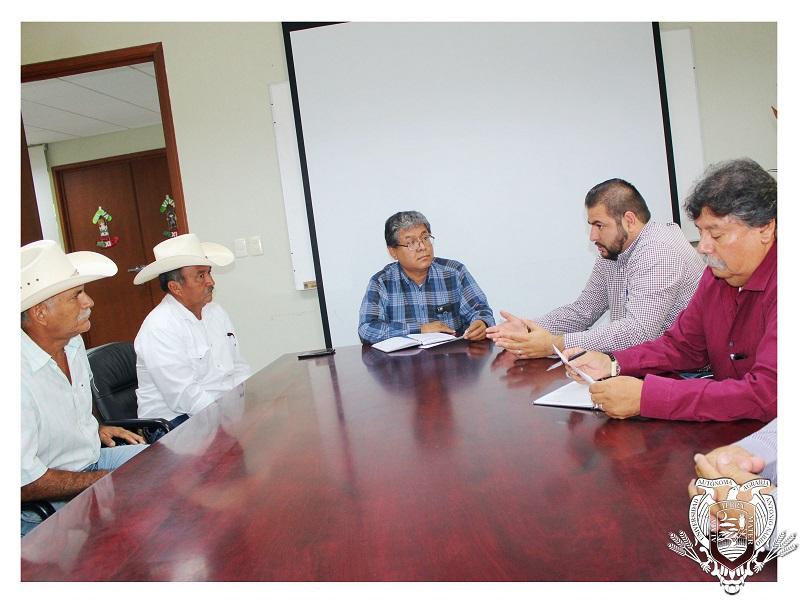 Visita la UAAAN el Alcalde de Nadadores, Coahuila