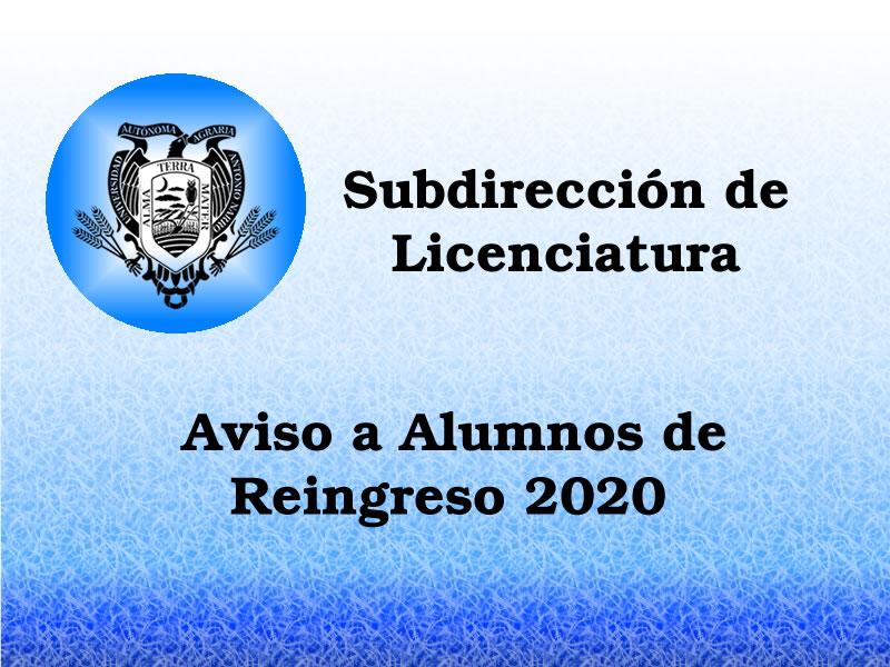 Instrucciones para el proceso de inscripción al semestre Enero – Junio 2020