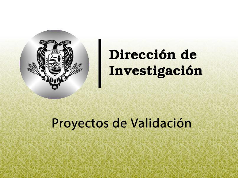 Proyectos de Validación 2020
