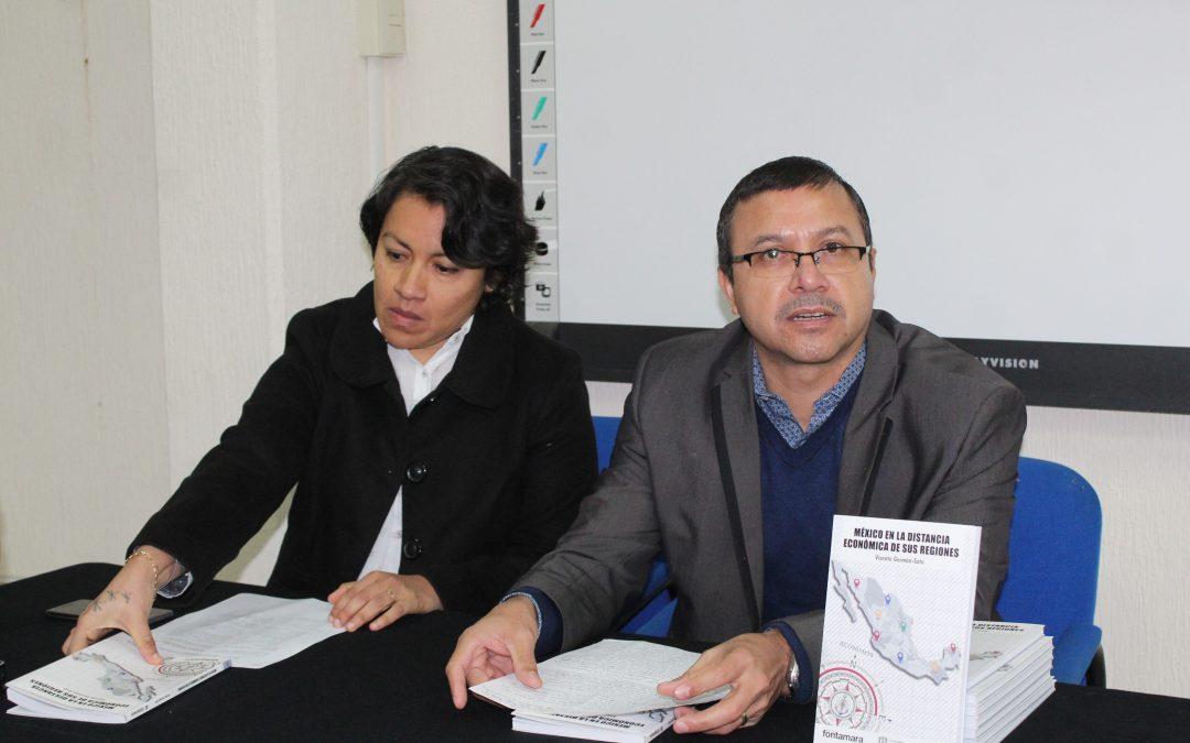 """Dr Vicente Germán Soto """"MÉXICO EN LA DISTANCIA ECONÓMICA DE SUS REGIONES"""""""