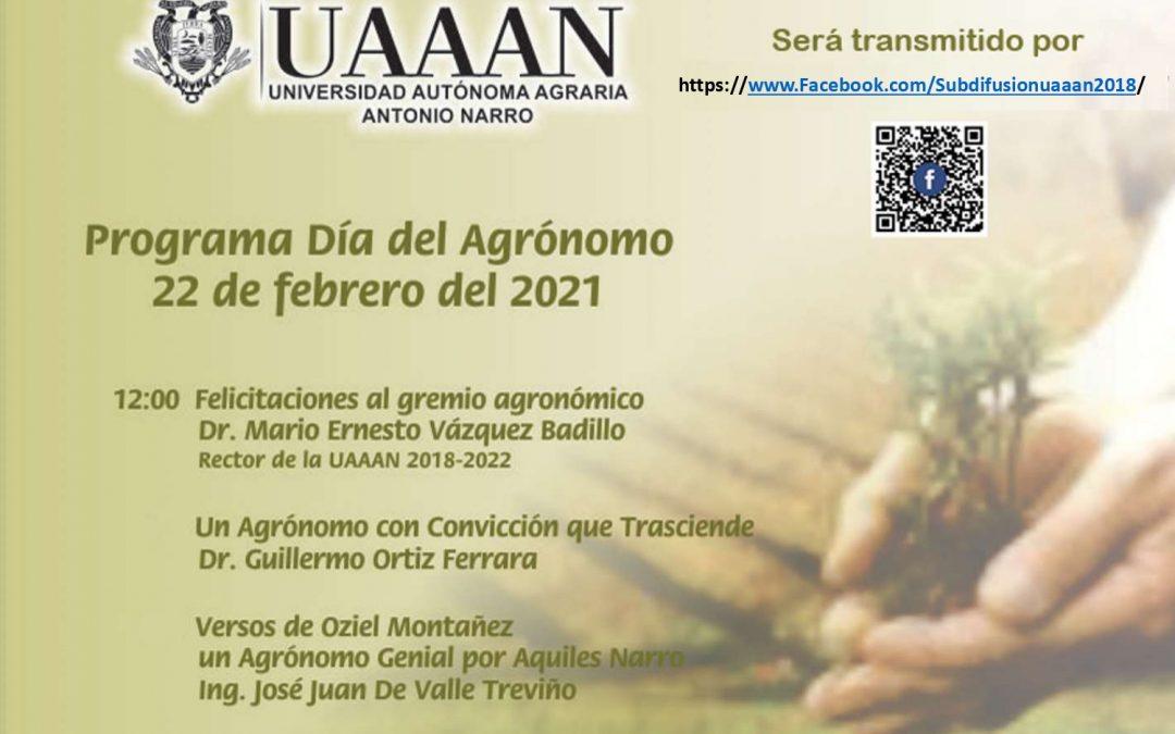 Programa día del Agrónomo 2021