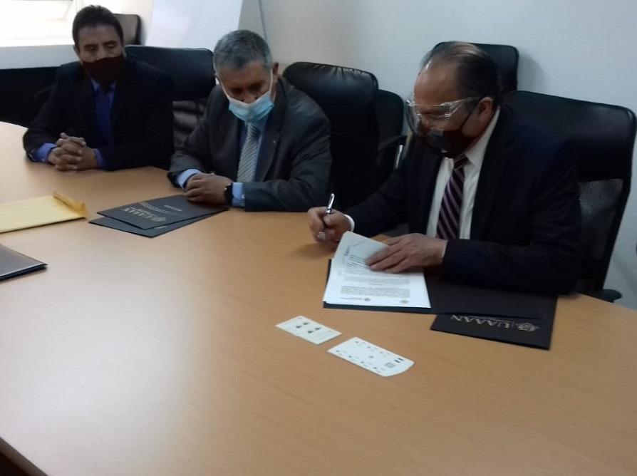 UAAAN-AMSAC concretan convenio de colaboración