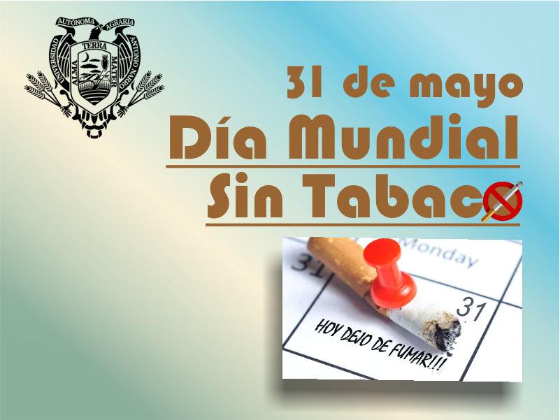 31 de Mayo: Día Mundial Sin Tabaco