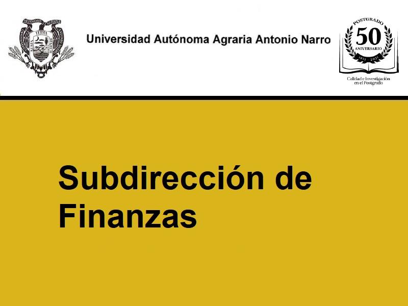 Al personal académico y administrativo de la UAAAN