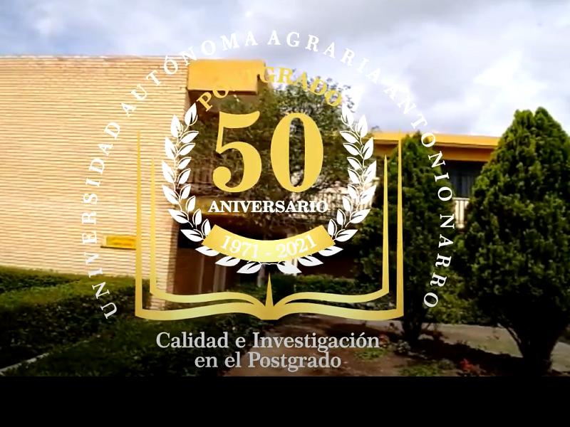 Inauguración del 50 Aniversario de Postgrado