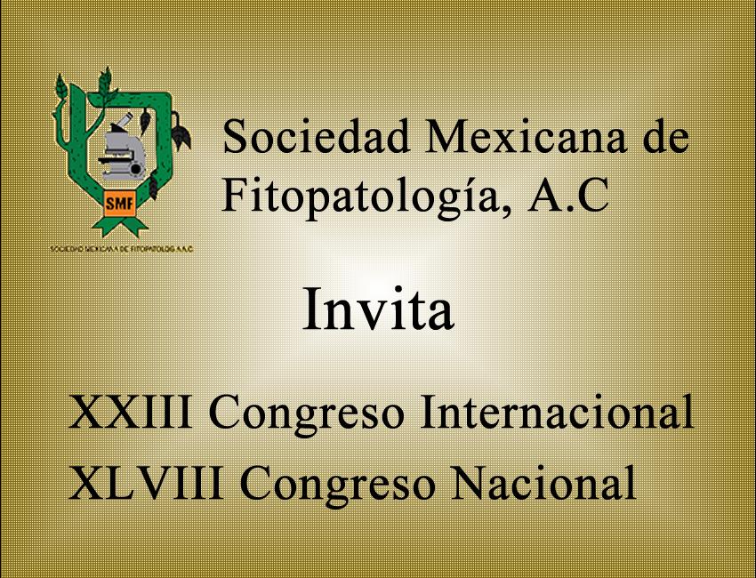 Congreso Internacional y Nacional de Fitopatología